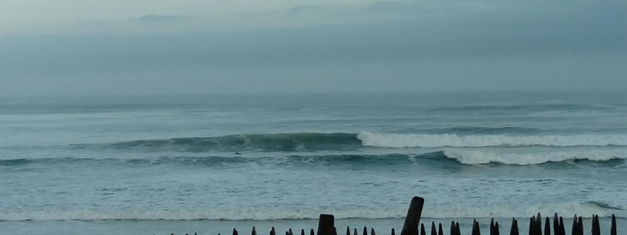 wave report FR, Vieux Boucau (40)