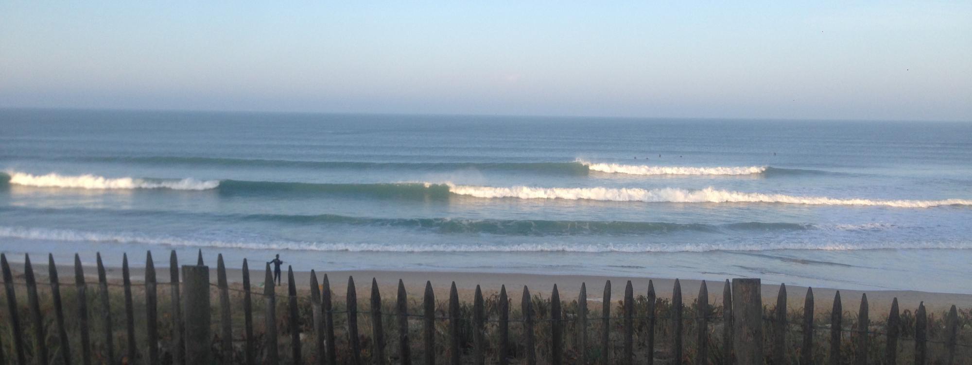 wave report FR, Lacanau Océan - La Nord (33)