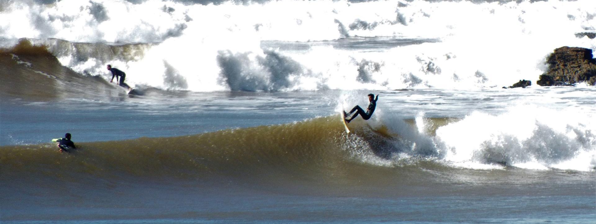 Surf report MA, Sidi Kaouki - La Grotte (MA)