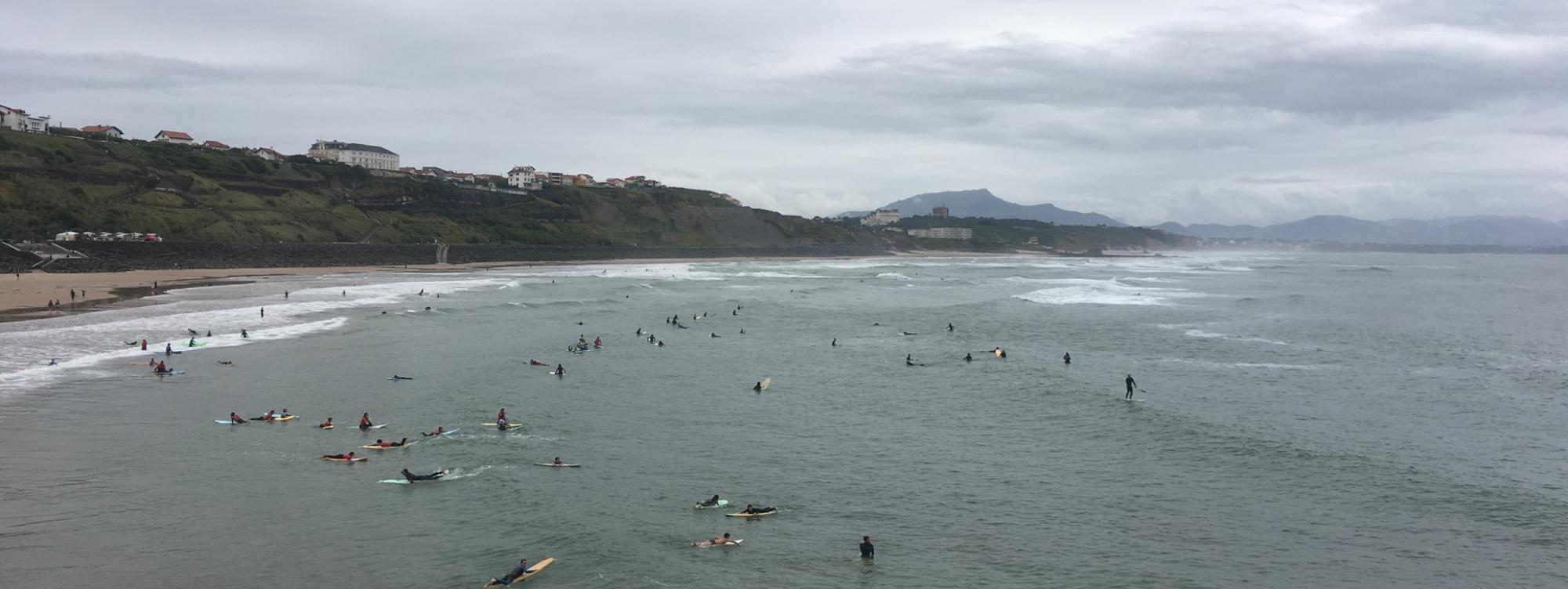 Surf report FR, Côte des Basques (64)