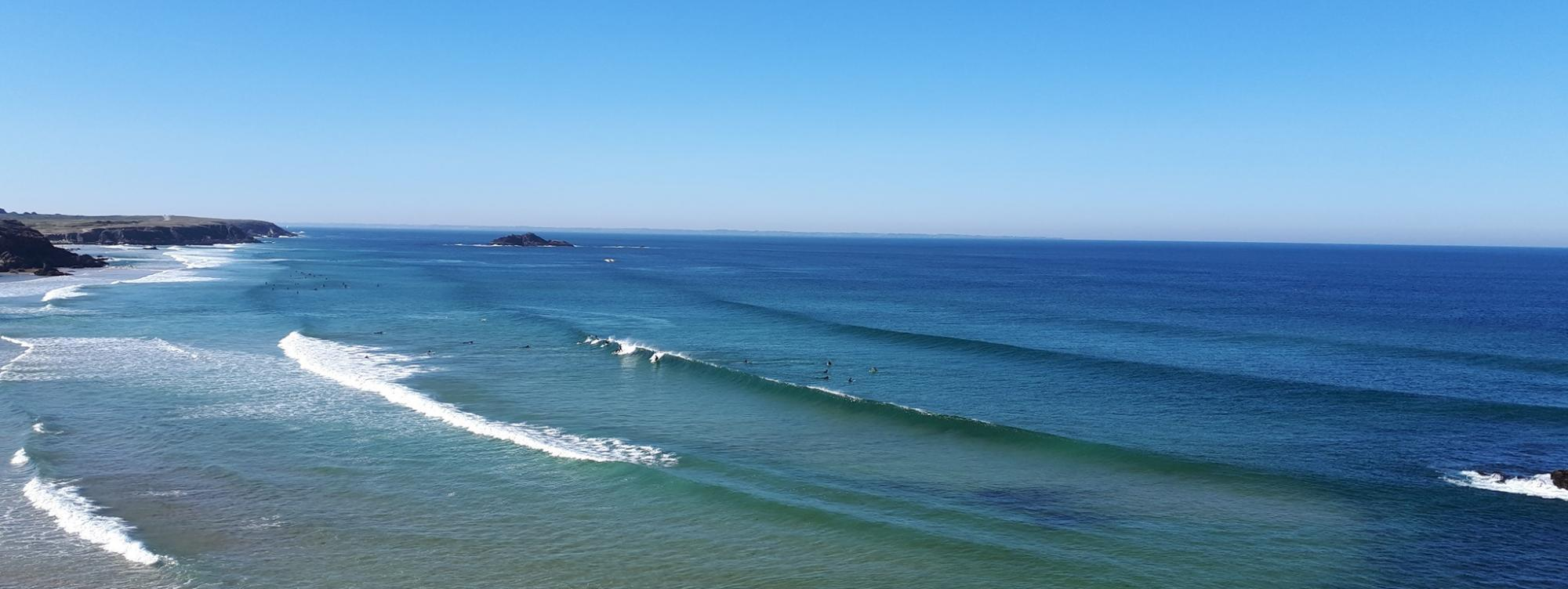 Surf report FR, Quiberon - Port Blanc (56)