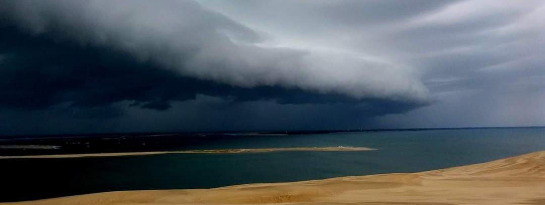 Wind report FR, Taussat - Plage du Port (33)
