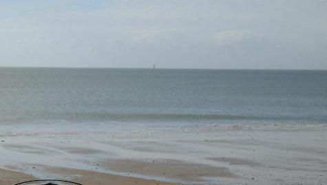 Surf report La Couarde - France (17) 2007-10-30 12:00:00