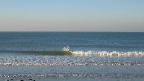 Surf report La Couarde - France (17) 2007-11-01 12:00:00