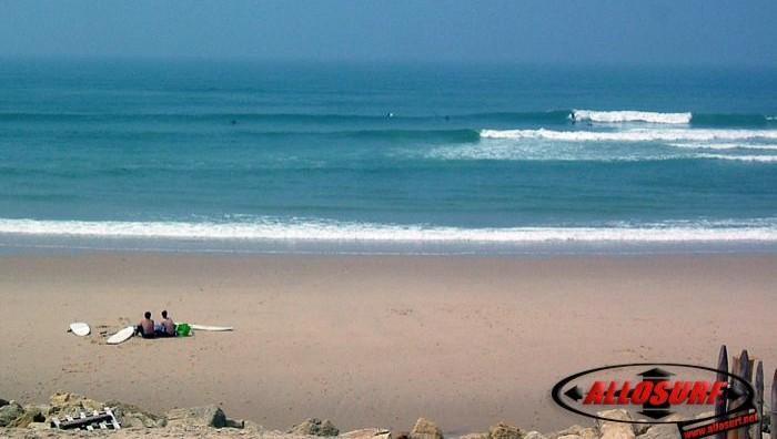 Surf report Lacanau Océan - La Nord - France (33) 2007-06-06 12:00:00
