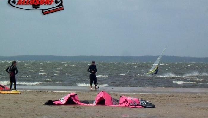 Wind report Hourtin port - France (33) 2007-06-15 13:00:00