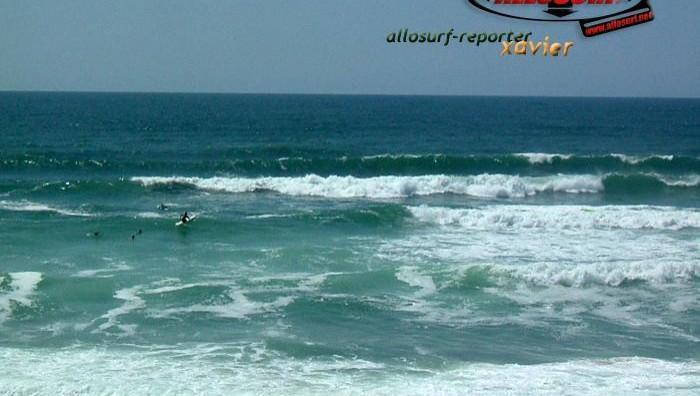 Surf report Lacanau Océan - La Nord - France (33) 2007-06-16 16:00:00