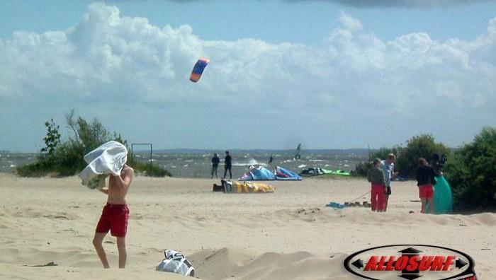 Wind report Hourtin port - France (33) 2007-06-25 16:00:00