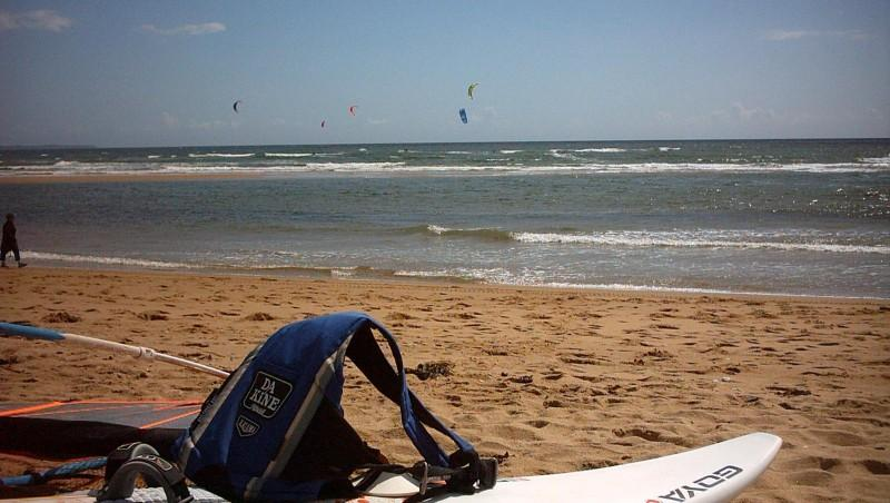 Wind report Guidel-Plage - France (56) 2007-07-09 15:00:00