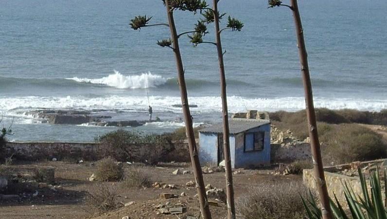 Surf report Jack Beach - Maroc (MA) 2007-10-12 16:00:00