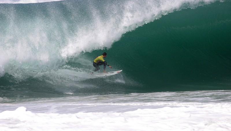 Surf report Seignosse - Les Bourdaines - France (40) 2007-10-11 08:00:00
