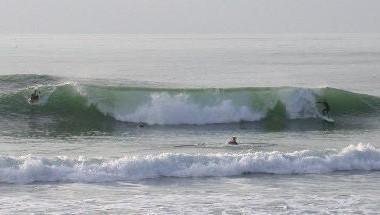 Surf report Capbreton - La Centrale - France (40) 2008-01-28 16:00:00