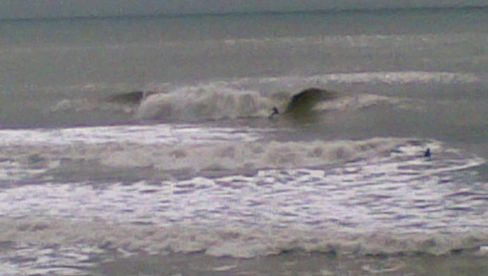 Surf report La Sauzaie - France (85) 2008-04-03 13:00:00