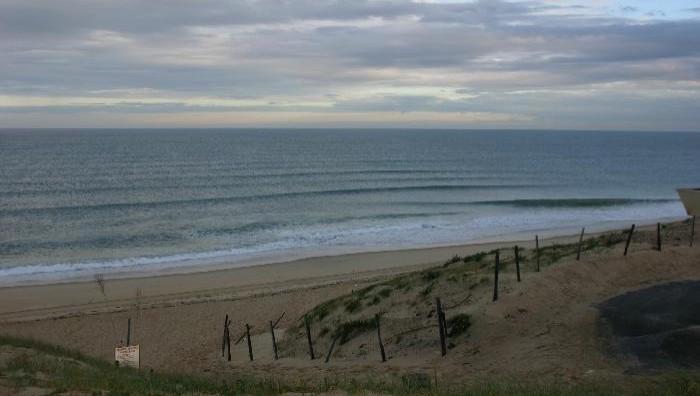 Surf report Vieux Boucau - France (40) 2008-04-08 18:00:00
