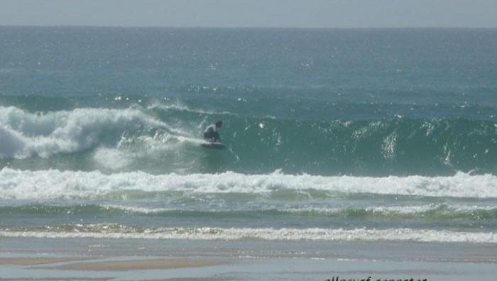 Surf report La Salie - France (33) 2008-04-26 16:00:00