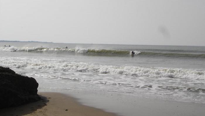 Surf report Gohaud - France (44) 2008-10-12 14:00:00