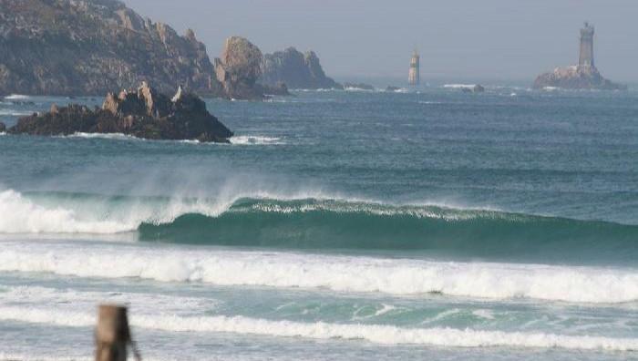 Surf report La Baie des Trépassés - France (29) 2008-10-12 10:00:00