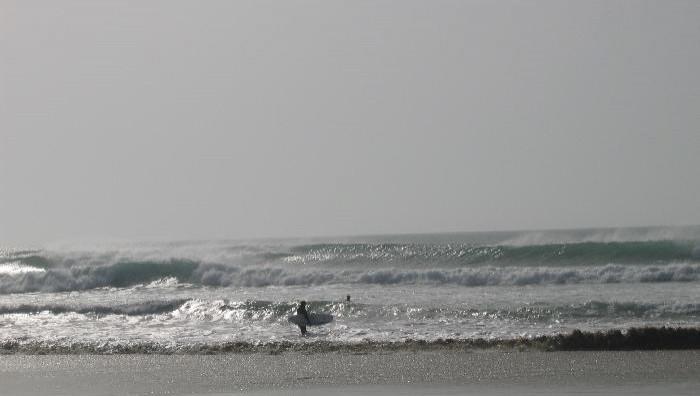 Surf report Plovan - France (29) 2008-10-12 14:00:00