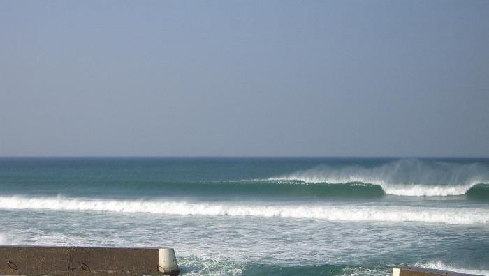 Surf report Penhors - France (29) 2008-10-12 12:00:00