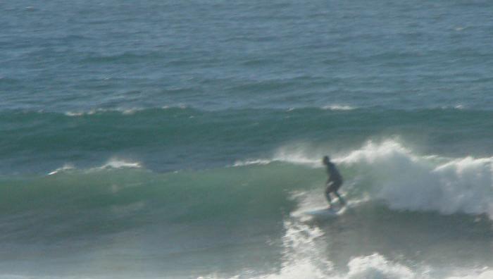 Surf report Quiberon - Port Blanc - France (56) 2008-10-25 09:00:00
