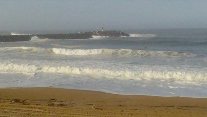 Surf report Anglet La Barre - France (64) 2008-11-08 11:00:00