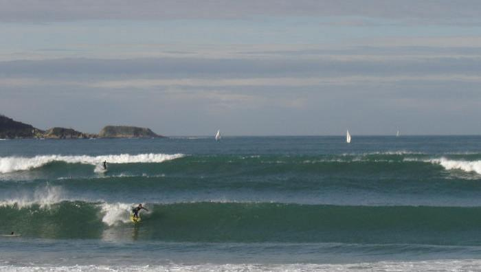 Surf report Hendaye - France (64) 2008-11-08 16:00:00
