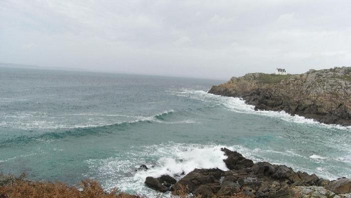 Surf report Lostmarc'h - France (29) 2008-11-08 12:00:00