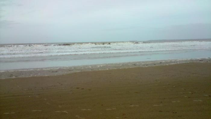 Surf report L'Ermitage - France (44) 2008-11-09 11:00:00