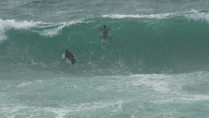 Surf report Petit Minou - France (29) 2008-11-09 10:00:00