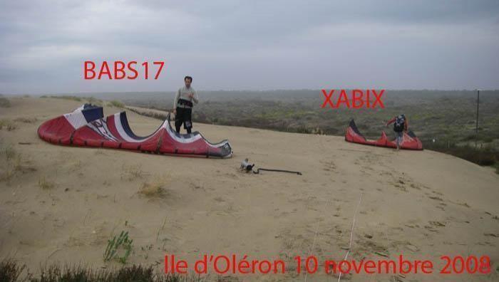Wind report La Palmyre - Bonne-Anse - France (17) 2008-11-10 17:00:00