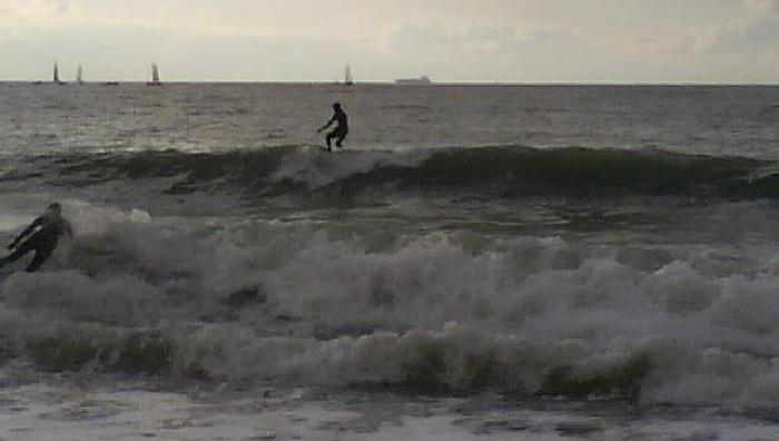 Surf report Le Havre - Les Régates - France (76) 2008-12-06 14:00:00