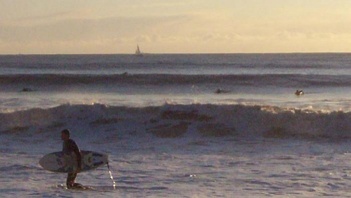 Surf report Pornichet - France (44) 2008-12-14 15:00:00