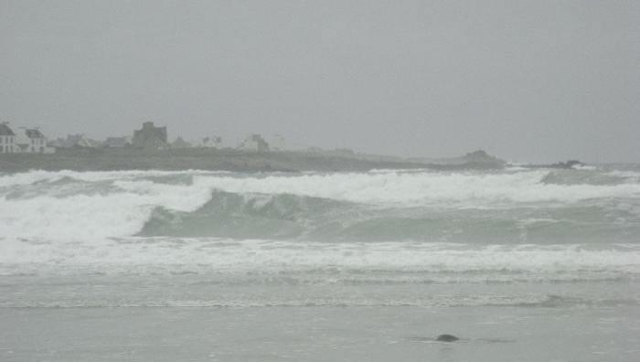 Surf report Pors Carn - France (29) 2008-12-16 12:00:00