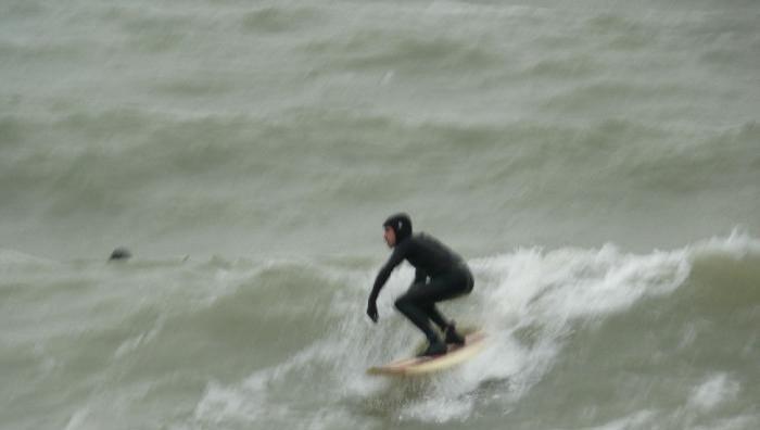Surf report Le Havre - Les Régates - France (76) 2008-12-20 12:00:00
