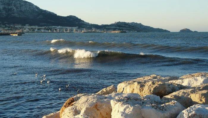 Surf report Le Prado - France (13) 2008-12-21 07:00:00