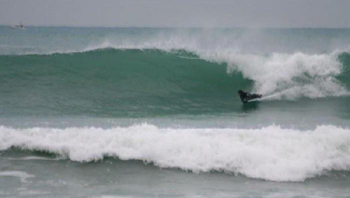 Surf report Gwendrez - France (29) 2008-12-22 14:00:00