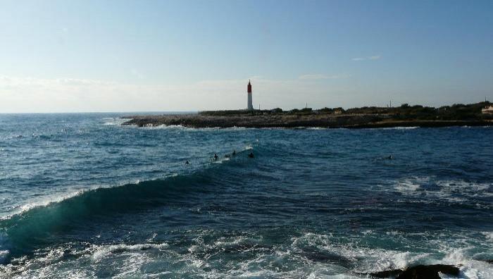 Surf report La Couronne - France (13) 2008-12-28 14:00:00
