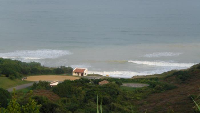Surf report Bidart Erretegia - France (64) 2008-09-03 12:00:00