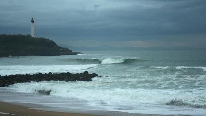 Surf report Anglet VVF - France (64) 2008-11-07 12:00:00