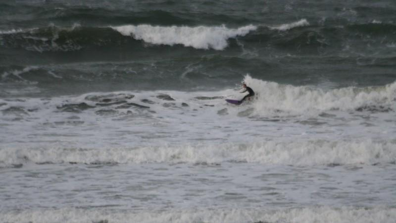 Surf report Guidel-Plage - France (56) 2008-11-09 12:00:00