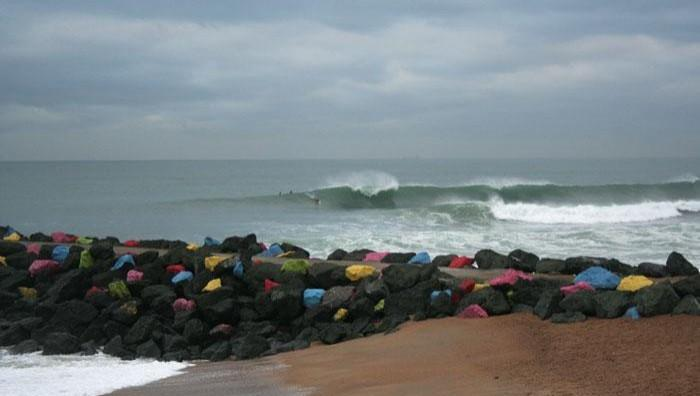 Surf report Anglet Sables d'Or - France (64) 2008-11-20 12:00:00