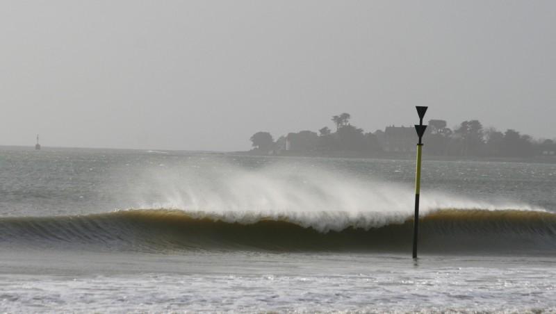 Surf report L'ïle Tudy - France (29) 2008-12-05 12:00:00