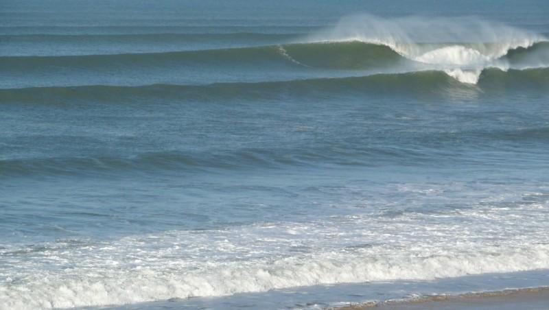 Surf report Cap-Ferret - Plage de L'Horizon - France (33) 2008-12-08 12:00:00