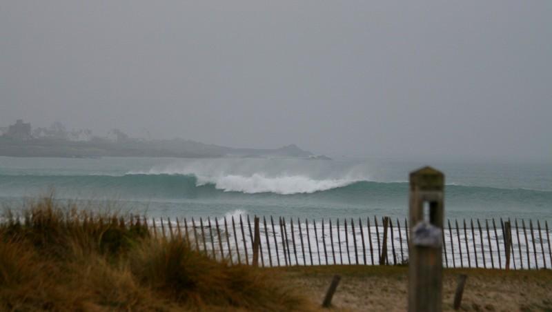Surf report Pors Carn - France (29) 2008-12-23 12:00:00