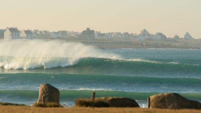Surf report Pors Carn - France (29) 2008-12-24 12:00:00