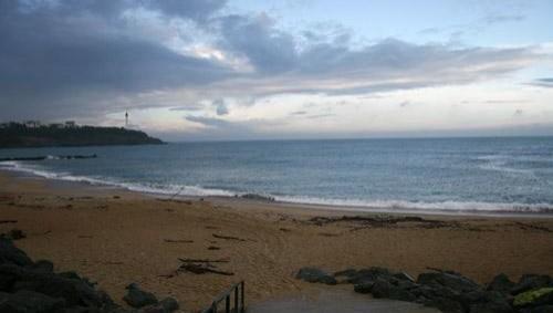 Surf report Anglet VVF - France (64) 2008-04-10 12:00:00