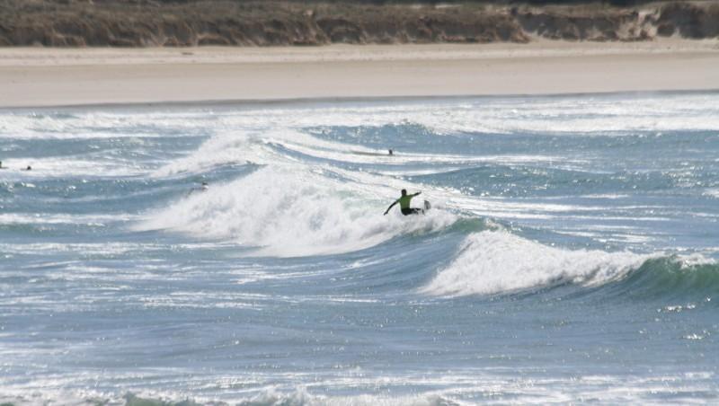 Surf report Pors Carn - France (29) 2008-04-13 12:00:00
