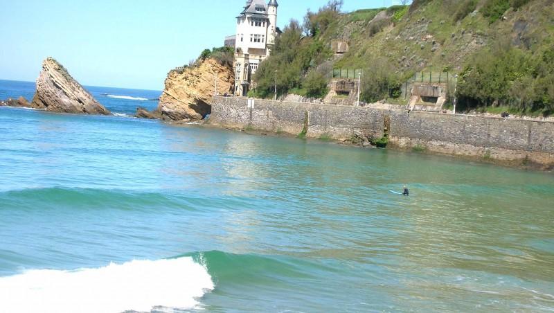 Surf report Côte des Basques - France (64) 2008-04-15 12:00:00