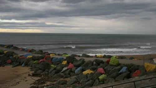 Surf report Anglet Sables d'Or - France (64) 2008-04-18 12:00:00