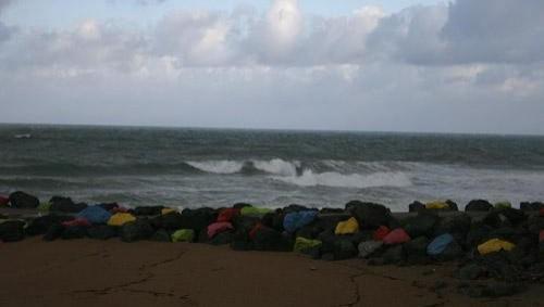 Surf report Anglet Sables d'Or - France (64) 2008-04-22 12:00:00